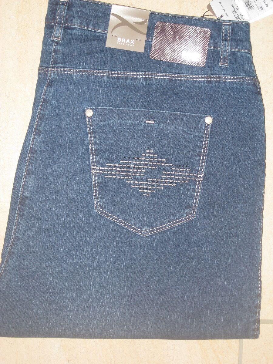 BRAX Jeans Stretchjeans Carola Brillian jeansblau softe Sommerualität neu