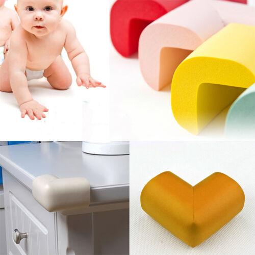 4 x Toddler Child Safety Soft Foam Sponge Corner Table Edge Protector Guard