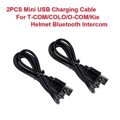 COLO 2X mini câble de chargement USB pour casque Bluetooth pour moto T-COM