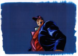 Jojo-039-s-Bizarre-Adventure-Anime-Cel-Animation-Art-Jotaro-Iggy-Episode-9-OVA-1993
