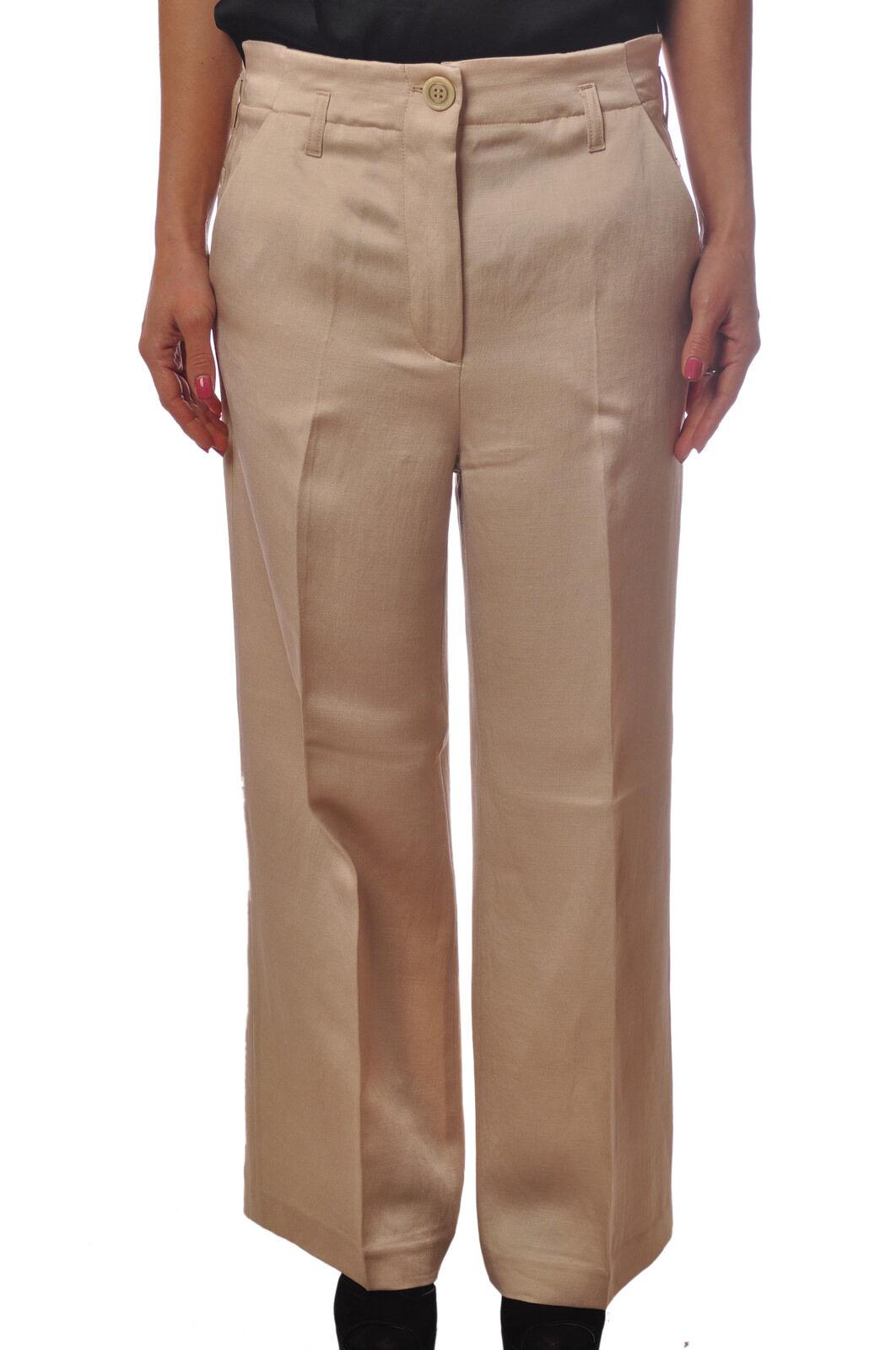 Twin Set - Pantaloni-Pantaloni - mujer - Beige - 5131505G181635   la mejor oferta de tienda online