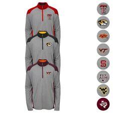 NCAA School Logo 1/4 Zip Perf. Pullover Fleece Jacket Collection Youth (S-XL)