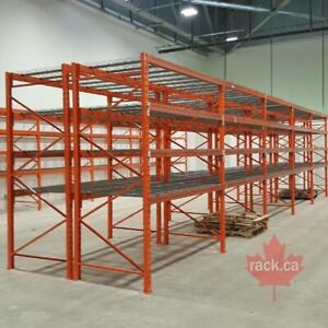 Industrial Shelving - Pallet Racking - Guardrail - Mezzanine - Cantilever - Wire Partition Hamilton Ontario Preview