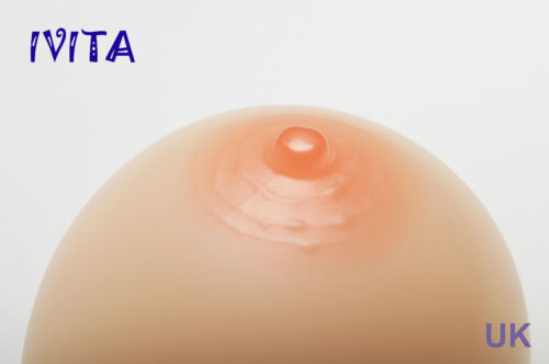 A to FF Cup Silicone Breast Forms Transgender Boobs Enhancer Crossdresser IVITA