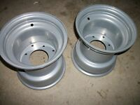 (2) Rims Wheels Rear Honda Atc 200e Es Big Red 82 83 84 Atc200 200m 185 Trx 200