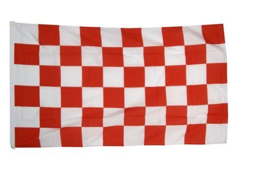 CARREAU ROUGE-BLANC Hissflagge rouge blanche drapeaux drapeaux 60x90cm