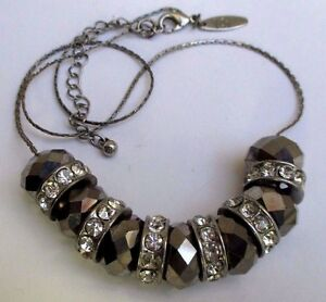 collier-bijou-retro-couleur-argent-rhodie-perle-hematite-cristaux-diamant-5