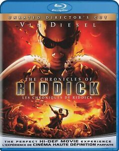 The Chronicles Of Riddick (Director's Cut) (2004) BLU-RAY / con Vin Diesel