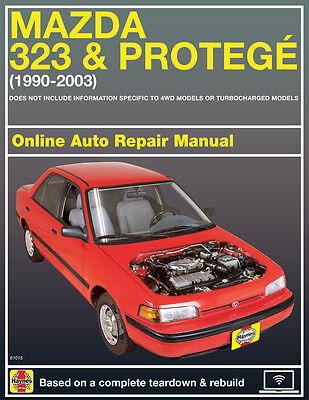 1993 mazda protege haynes online repair manual select access ebay rh ebay com 1989 Mazda Protege 1989 Mazda Protege