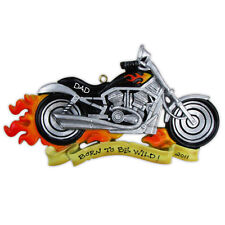 Personalized Christmas Ornament Motorcycle Harley Davidson Motor Bike Gift