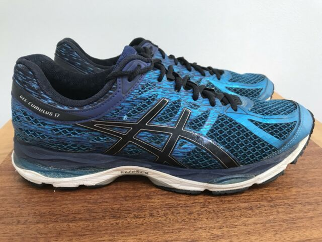 c3cb194224c Asics Gel Cumulus 17 METALLIC BLUE Running Athletic Shoes Men s size 11.5