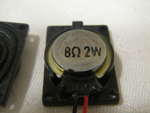 """NEW SPEAKER 2-PIN 8 OHM 2W  0.8/""""x1.0/"""""""
