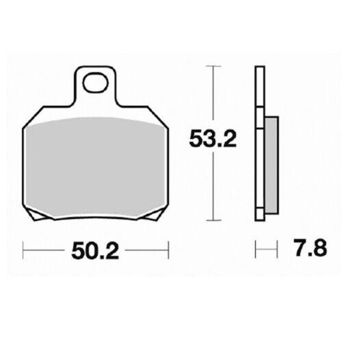Pastillas de freno Piaggio X8 125 2004 trasera S1110 Kyoto