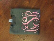 Vine Font Monogrammed Sweatshirt - Vinyl