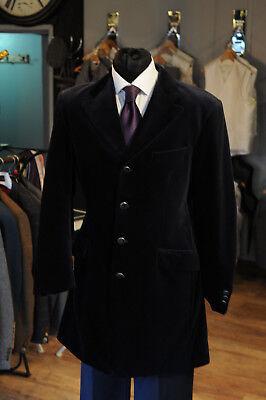 Ausdrucksvoll Mj-101k Mens Black Prince Edward Velvet Jacket Wedding/evening/event Seien Sie Freundlich Im Gebrauch