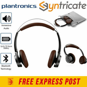 Plantronics BackBeat Sense Bluetooth Wireless Headphone with MIC -Black/Espresso