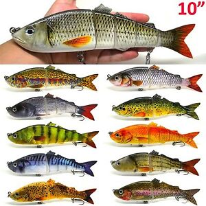 8 5 Quot Amp 10 Quot Life Like Swimbait Fishing Bait Multi Jointed