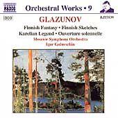 Glazunov: Finnish Fantasy; Finnish Sketches; Karelian Legend; Ouverture solennel