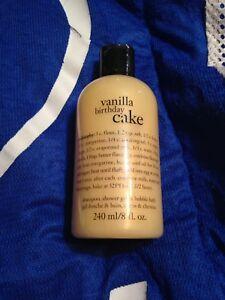 Excellent Philosophy Vanilla Birthday Cake 3 In 1 Shampoo Shower Gel Birthday Cards Printable Giouspongecafe Filternl