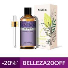 Aceite Esencial de Lavanda - 100ml Aceite de Aromaterapia de Grado Terapéutico