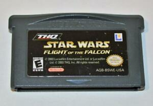 STAR WARS: FLIGHT OF THE FALCON NINTENDO GAME BOY ADVANCE SP GBA