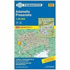 Adamello 052 GPS Presanella: TAB.052: 2014 by Tabacco (Sheet map, folded, 2012)