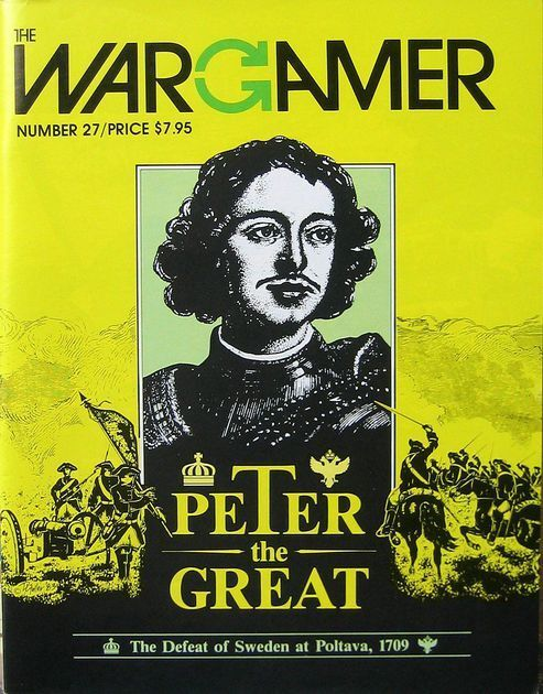 The Wargiocor  Numero 27 - Peter The Great - Gioco Punched & Insaccato  più sconto