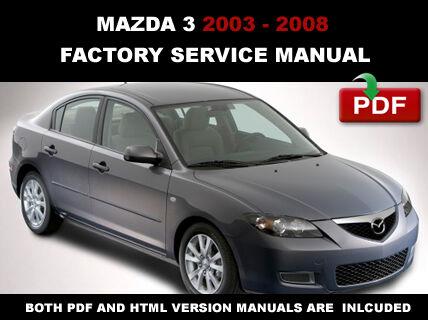 2005 mazda 3 service manual