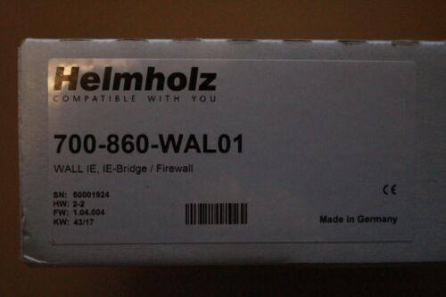 Ie-pont//pare-feu De Helmholz 700-860-WAL01 mur IE