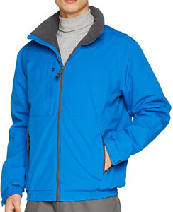 Regatta-Chaqueta-Azul-Dover-Plus-para-hombre-impermeable-transpirable-aislado-a-prueba-de-viento