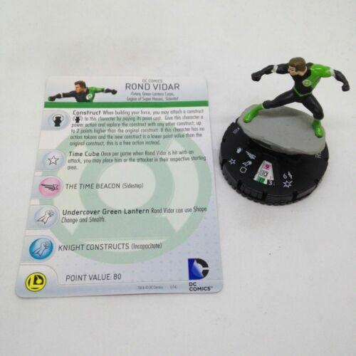 DC Heroclix War of Light 103 Rond Vidar Limited Edition