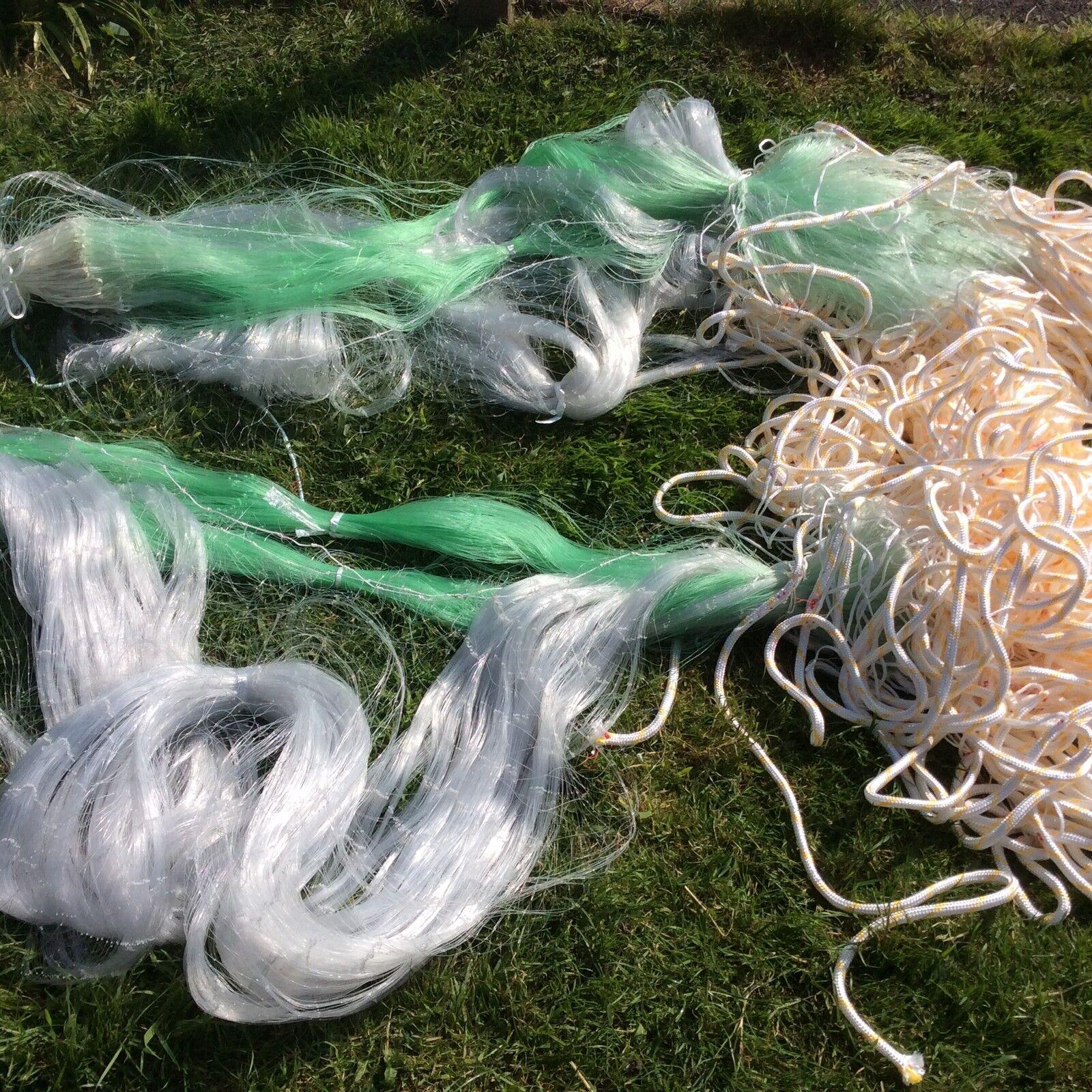 300 ft trammel net, plaice, sole s  monkfish, pollock ect