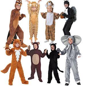 Image is loading Kids-Animal-Costumes-Boy-Pajama-Sleepwear-Jumpsuit-Fancy-  sc 1 st  eBay & Kids Animal Costumes Boy Pajama Sleepwear Jumpsuit Fancy Dress ...