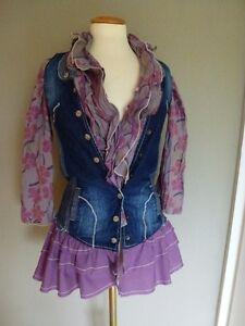 jeans lila kinder kleid didi girls bluse f r 10 bis. Black Bedroom Furniture Sets. Home Design Ideas