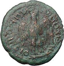 COMMODUS Son of Marcus Aurelius Nicopolis Rare Ancient Roman Coin EAGLE  i48560