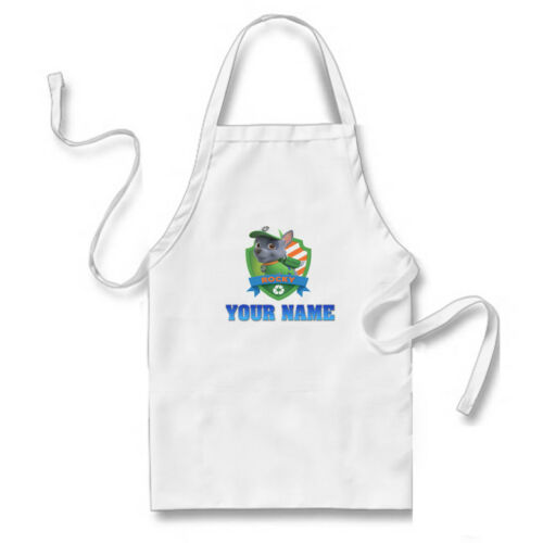 New Paw Patrol Personalised Name Novelty Childrens Kids Apron.
