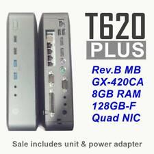 WES7e Thin Client Quad Core GX-420CA 2GHz 16GB-F 4GB-R K1L95UA#ABA HP T620 PLUS