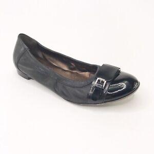 Agl Shoes   Agl Black Buckle Ballet Flat   Poshmark