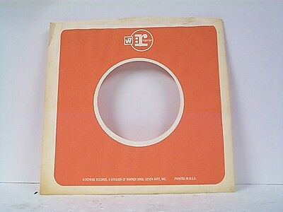 Reasonable 1 Music Reprise Record Company 45's Sleeves Lot # 32-o Good For Antipyretic And Throat Soother