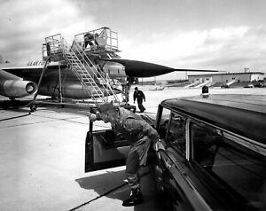"USAF Convair B-58 Hustler ((8.5""x11"")) Print"