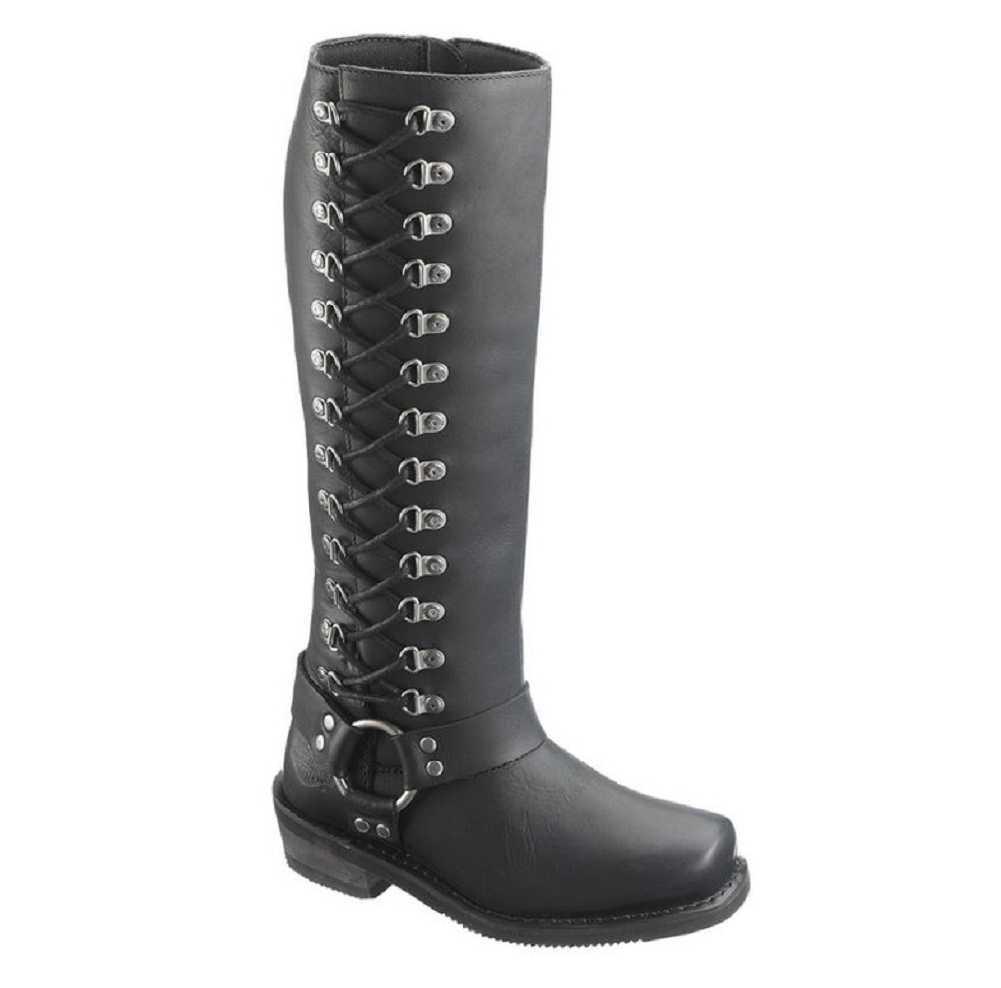 Harley-Davidson Women's Romy Inside Zip Boots. Shaft 14.5 14.5 14.5 , Heel 1.75  D87020 309f5a