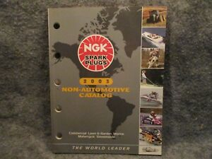 NGK-Spark-Plugs-Commercial-Lawn-Marine-Motorcycle-2003-Non-Automotive-Catalog