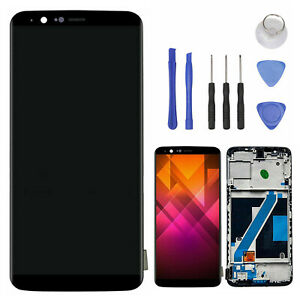 Para-Oneplus-5T-Pantalla-Tactil-Ecran-LCD-Display-Screen-Digitalizador-Con-Marco