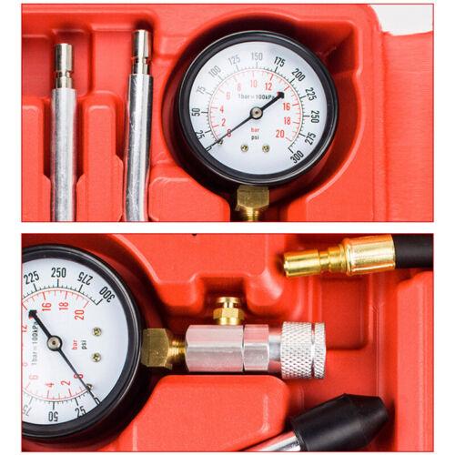 Benzin Kompressionsdruck Prüfer Tester Satz Kompressionstester Zylinder Meßgerät