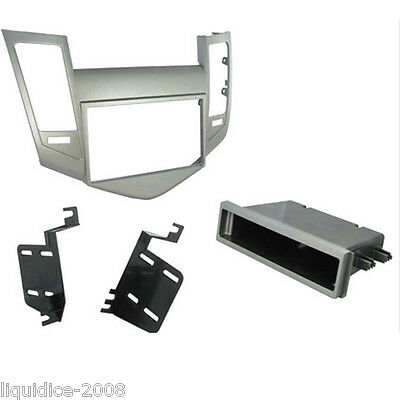CT24FD38 FORD FIESTA 2006 to 2008 CHARCOAL GREY SINGLE OR DOUBLE DIN FASCIA KIT