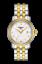 thumbnail 1 - Tissot Swiss Made T-Classic Bridgeport 2 Tone Gold Plated MOP Ladies' Watch