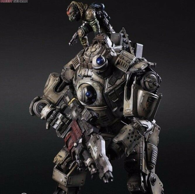 Titanfall atlas spielen kunst pa kai pvc - actionfigur model toys weihnachten 26cm