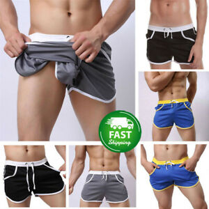 Men-039-s-Gym-Shorts-Training-Running-Sport-Workout-Casual-Jogging-Pants-Trousers-b5
