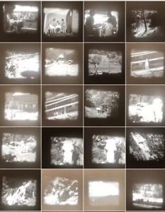 16mm Privatfilm Um 1930 Auto Ausflug Camping Familie #5 Technik & Photographica