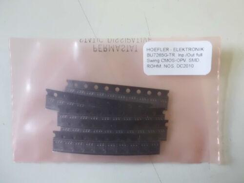 D137 BU7265G-TR Inp.//Out full Swing CMOS-OPV`s SMD 50 St !!